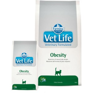 Farmina Vet Life Cat Obesity 400 gr