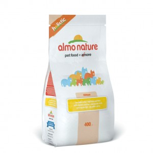Almo Nature Для Котят с Курицей 400 гр / Almo Nature Holistic Kitten Chicken&Rice 400 gr