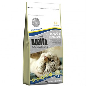 Bozita Funktion для домашних и стерилизованных 2 кг / Bozita Indoor&Sterilised 2 kg