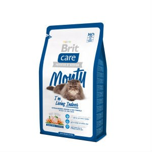Brit Care Monty для живущих в доме 2 кг / Brit Care Cat Monty Indoor 2 kg
