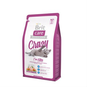 Brit Care Crazzy для котят 400 гр / Brit Care Cat Crazzy Kitten 400 gr