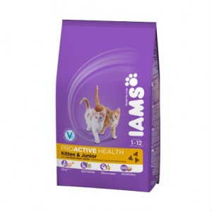 Iams Pro active health для котят с курицей 300 гр / Iams Pro active health Kitten and Jounior 300 gr
