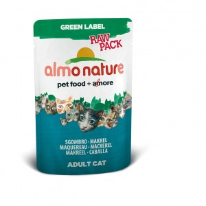 Almo Nature Green Label с макрелью (пауч) 55 гр / Almo Nature Green Label mackerel (pouch) 55 gr
