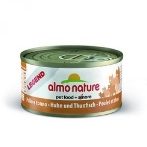 Almo Nature Legend c Курицей и тунцом 70 гр / Almo Nature Legend