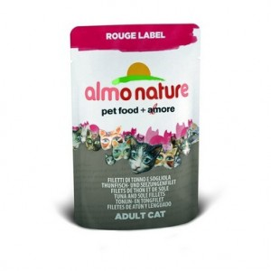 Almo Nature Rouge Label холистик с Тунцом и камбалой 55 гр / Almo Nature Rouge Label holistic