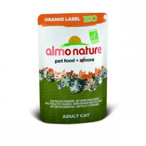 Almo Nature Orange Label БИО с Курицей и овощами 70 гр / Almo Nature Orange Label Bio