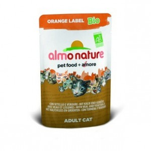 Almo Nature Orange Label БИО с Телятиной и овощами 70 гр / Almo Nature Orange Label Bio