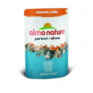 Almo Nature Orange Label с Тунцом 70 гр / Almo Nature Orange Label